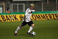 Patrick Funk (Stuttgart)<br /> Deutschland vs. Finnland, U19-Junioren<br /> *** Local Caption *** Foto ist honorarpflichtig! zzgl. gesetzl. MwSt. Auf Anfrage in hoeherer Qualitaet/Aufloesung. Belegexemplar an: Marc Schueler, Am Ziegelfalltor 4, 64625 Bensheim, Tel. +49 (0) 151 11 65 49 88, www.gameday-mediaservices.de. Email: marc.schueler@gameday-mediaservices.de, Bankverbindung: Volksbank Bergstrasse, Kto.: 151297, BLZ: 50960101