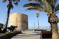 Torre dello Speronein Alghero, Provinz Sassari, Nord - Sardinien, Italien