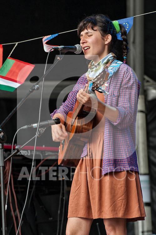 Lorena Alvarez y su banda municipal at the International Festival San Miguel Primavera Sound