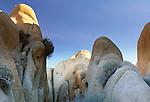 Granite rock piles, Joshua Tree National Park, California