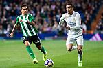 Cristiano Ronaldo of Real Madrid  during the match of Spanish La Liga between Real Madrid and Real Betis at  Santiago Bernabeu Stadium in Madrid, Spain. March 12, 2017. (ALTERPHOTOS / Rodrigo Jimenez)