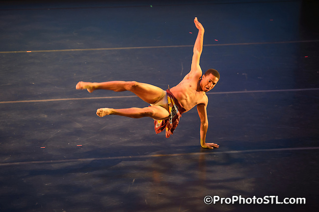 """Black Dance USA """"A Celebration in Movement"""" show in Edison Theater at Washington University in St. Louis, MO on May 26, 2012."""