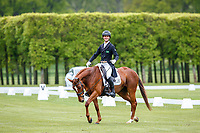 BRA-Rafael Losano rides Bailey during the Dressage for the CCI-L 2* Section A. 2021 GBR-Saracen Horse Feeds Houghton International Horse Trials. Hougton Hall. Norfolk. England. Thursday 27 May 2021. Copyright Photo: Libby Law Photography