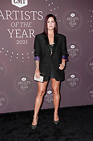 Cassadee Pope attends the 2021 CMT Artist of the Year on October 13, 2021 in Nashville, Tennessee. Photo: Ed Rode/imageSPACE/MediaPunch