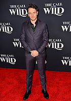 """LOS ANGELES, CA: 13, 2020: Colin Woodell at the world premiere of """"The Call of the Wild"""" at the El Capitan Theatre.<br /> Picture: Paul Smith/Featureflash"""