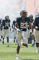Pitt wide receiver Tyler Boyd (23). The Pitt Panthers defeated the Virginia Cavaliers 14-3 at Heinz Field, Pittsburgh, PA on Saturday, September 28, 2013.