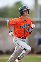 Blaze Alexander (13) while playing for Houston Astros Scout Team/Elite Squad based out of Pembroke Pines, Florida during the WWBA World Championship at the Roger Dean Complex on October 21, 2017 in Jupiter, Florida.  Blaze Alexander is a shortstop from Cape Coral, Florida who attends Bishop Verot High School.  (Mike Janes/Four Seam Images)