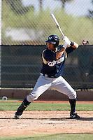 Sergio Miranda - Milwaukee Brewers - 2009 spring training.Photo by:  Bill Mitchell/Four Seam Images