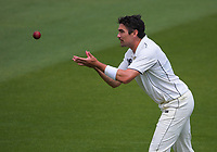 Danru Ferns prepares to bowl during day three of the Plunket Shield match between the Wellington Firebirds and Auckland Aces at the Basin Reserve in Wellington, New Zealand on Monday, 16 November 2020. Photo: Dave Lintott / lintottphoto.co.nz