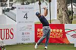 Pablo Larrazabal of Spain tees off hole 4 during the 58th UBS Hong Kong Open as part of the European Tour on 07 December 2016, at the Hong Kong Golf Club, Fanling, Hong Kong, China. Photo by Vivek Prakash / Power Sport Images