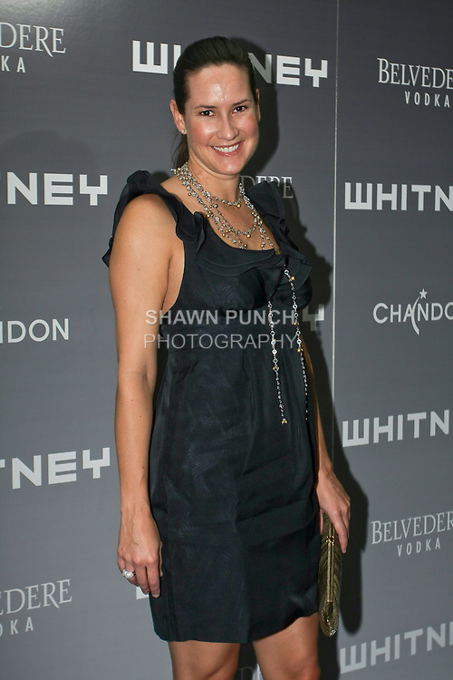 Samantha Barnes arrives at the 2011 Whitney Art Party: The Groundbreakers, at Highline Stages, May 24, 2011.