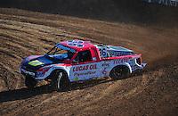 Dec. 9, 2011; Chandler, AZ, USA;  LOORRS pro 4 unlimited driver Rodrigo Ampudia during qualifying for round 15 at Firebird International Raceway. Mandatory Credit: Mark J. Rebilas-