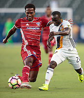 Carson, CA - August 10, 2016: FC Dallas defeats the LA Galaxy 2-1 in extra time to advance to the 2016 Lamar Hunt U.S. Open Cup Championship match at StubHub Center.