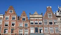 Nederland  Haarlem  2019.  Gevels in Haarlem.   Berlinda van Dam / Hollandse Hoogte