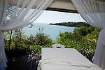 The spa at Ponta dos Ganchos Eco Resort, a Relais & Chateau property in Governador Celso Ramos, Santa Catarina, Brazil