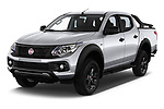 2018 Fiat Fullback Cross Techno 4 Door Pick Up angular front stock photos of front three quarter view