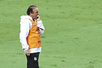 São Paulo (SP), 10/01/2021 - São Paulo-Santos - Técnico Cuca. Partida entre São Paulo e Santos válida pelo Campeonato Brasileiro neste domingo (10) no estádio do Morumbi em São Paulo.