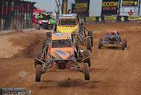 Mar. 20, 2011; Chandler, AZ, USA;  LOORRS super buggy driver Bobby Pecoy during round two at Firebird International Raceway. Mandatory Credit: Mark J. Rebilas-