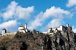 Italy, South Tyrol, Alto Adige, Chiusa at Valle Isarco: monastery Saeben   Italien, Suedtirol, Klausen im Eisacktal: Kloster Saeben