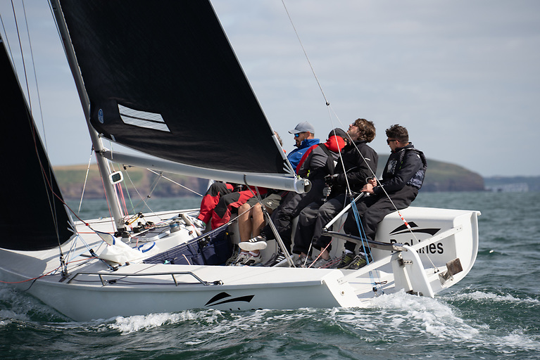 Rob McConnell's new 1720 sportsboat was the top performer at Waterford Harbour Sailing Club'sannual Club Cruiser Championships and Open Keelboat Regatta