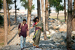 Dipmalya (Diya) and Saswata take a stroll on Digha Beach, West Bengal, India. Arindam Mukherjee