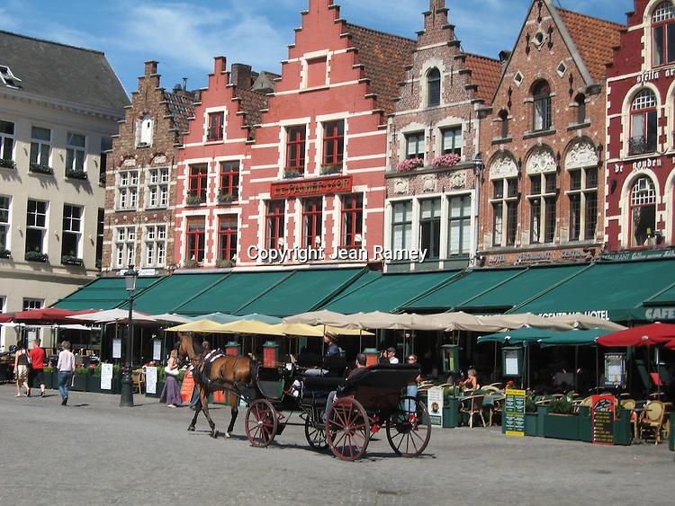 Grote Markt, Brugge, Belgium