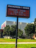 Pasadena High School Honors Eddie Van Halen After His Passing