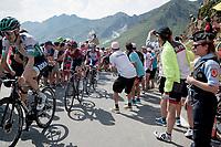 Egan Bernal (COL/Ineos) up the Tourmalet (HC/2115m/19km @7.4%)<br /> <br /> Stage 14: Tarbes to Tourmalet(117km)<br /> 106th Tour de France 2019 (2.UWT)<br /> <br /> ©kramon