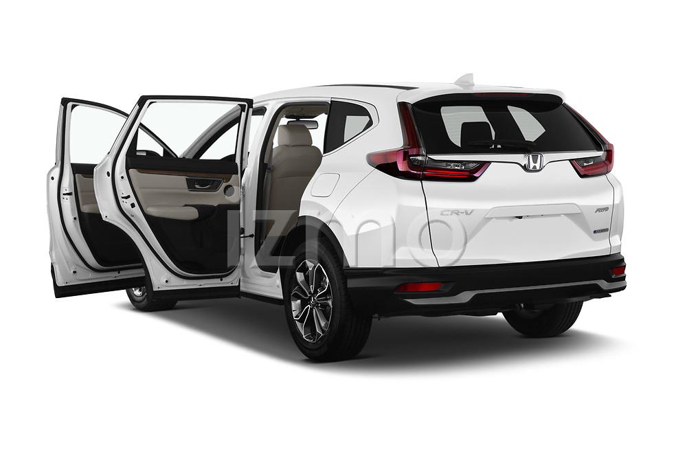 Car images of 2021 Honda CR-V-Hybrid EX 5 Door SUV Doors