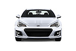 Car photography straight front view of a 2017 Subaru BRZ Sport Premium 2 Door Coupe