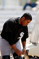 Luis Sierra  -  Chicago White Sox - 2009 spring training.Photo by:  Bill Mitchell/Four Seam Images