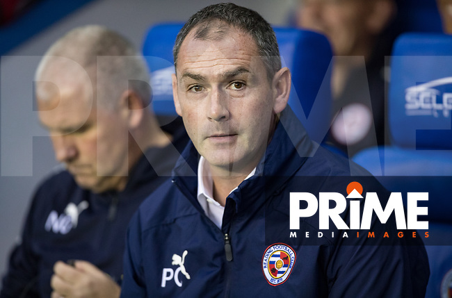 Reading Manager Paul Clement during the Carabao Cup Round 2 match between Reading and Watford at the Madejski Stadium, Reading, England on 29 August 2018. Photo by Andy Rowland