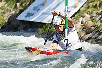 5th September 2021; Parc Olimpic del Segre, La Seu D'Urgell ICF Slalom World Cup, Men's Canoe Final; 3rd place for Franz Anton (GER)