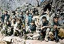 Iraq 1981.Peshmergas in the mountains near Sergalou.Irak 1981.Peshmergas dans les montagnes pres de Sergalou
