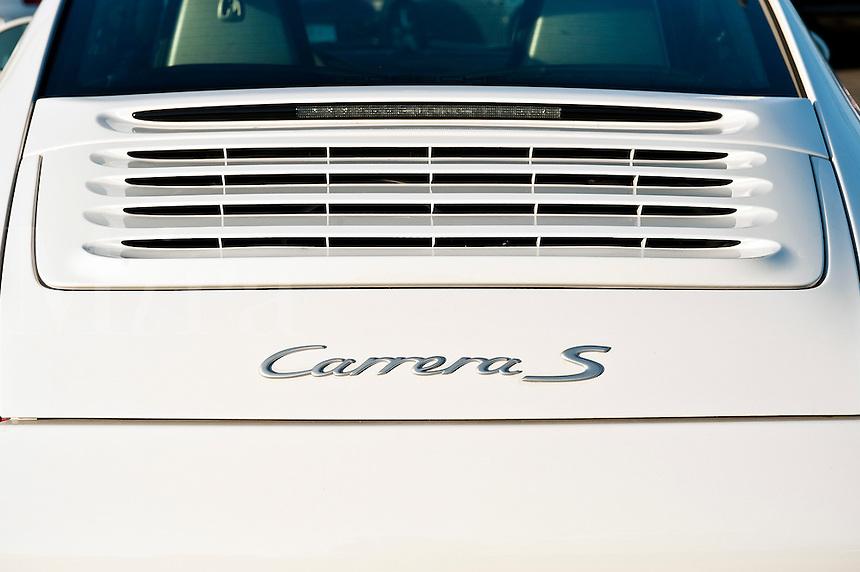 Porsche Carrera detail.