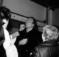 Julio Iglesias<br />  ,date inconnnue<br /> <br /> PHOTO : Agence Quebec Presse - Roland Lachance
