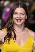 """Abbie Scott<br /> arriving for the """"Captain Marvel"""" European premiere at the Curzon Mayfair, London<br /> <br /> ©Ash Knotek  D3484  27/02/2019"""