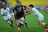North's Dalton Papalii in action during the rugby match between North and South at Sky Stadium in Wellington, New Zealand on Saturday, 5 September 2020. Photo: Dave Lintott / lintottphoto.co.nz