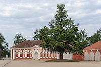 Schloss bei BauskasPils Rundale, Lettland, Europa