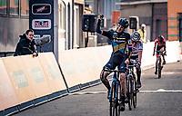 Lucinda Brand (NED/Telenet-Baloise Lions) wins the 2020 Jaarmarktcross Niel (BEL) <br /> <br /> Womens Race<br /> <br /> ©kramon