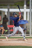 Brady House (22) during the WWBA World Championship at JetBlue Park on October 10, 2020 in Fort Myers, Florida.  Brady House, a resident of Winder, Georgia who attends Winder-Barrow High School, is committed to Tennessee.  (Mike Janes/Four Seam Images)