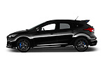 Car driver side profile view of a 2017 Ford Focus RS Limited 5 Door Hatchback