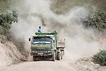 Truck On Dusty Road