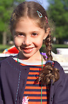 portrait of 11 year old girl