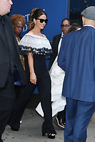 NEW YORK, NY- October 22 Kate Beckinsale seen exiting Good Morning America in New York City on  October 22, 2019. Credit: RW/MediaPunch