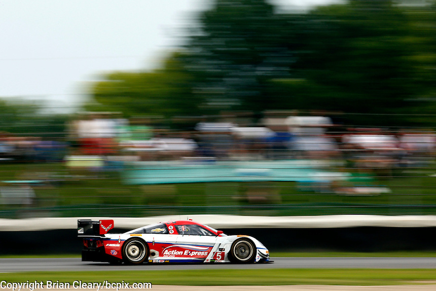 #5 Corvette DP, Christian Fittipaldi, Joao Barbosa, Brickyard Grand Prix, Indianapolis Motor Speedway, Indianapolis, Indiana, July 2014.  (Photo by Brian Cleary/www.bcpix.com)