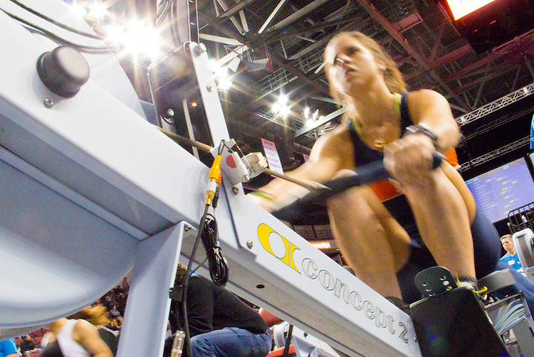 Concept2 Crash-B World Indoor Rowing Championships, 2012, Christine Cavalo, Orlando Area Rowing Society, Inc. 1st, Lightweight Junior Women, athletes compete annually on a Concept2 Indoor Rower for time over 2000 meters, Agganis Arena, Boston University, Boston, Massachusetts,