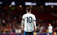 Argentina's Leo Messi  during the International Friendly match on 22th March, 2019 in Madrid, Spain. (ALTERPHOTOS/Manu R.B.)<br /> Madrid 22-03-2019 <br /> Football Friendly Match <br /> Argentina Vs Venezuela <br /> foto Alterphotos/Insidefoto <br /> ITALY ONLY