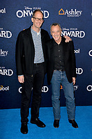 "LOS ANGELES, CA: 18, 2020: Pete Docter & Jim Morris at the world premiere of ""Onward"" at the El Capitan Theatre.<br /> Picture: Paul Smith/Featureflash"