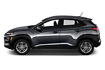 Car Driver side profile view of a 2020 Hyundai Kona SE 5 Door SUV Side View